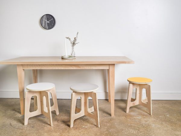 stools, modern stools, white stool, grey stool, yellow stool, maple stool, kitchen stool, side table